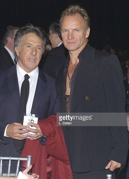 Dustin Hoffman and Sting