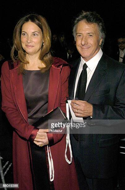 Dustin Hoffman and wife Lisa Gottsegen