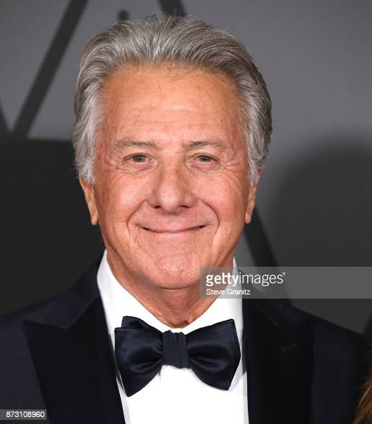 Dustin Hoffman arrives at the Academy Of Motion Picture Arts And Sciences' 9th Annual Governors Awards at The Ray Dolby Ballroom at Hollywood...