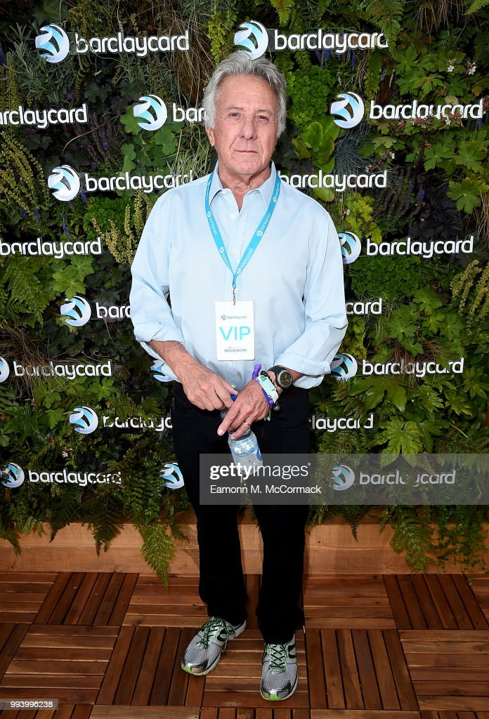 Dustin Hoffman attends as Barclaycard present British Summer Time Hyde Park in Hyde Park on July 8, 2018 in London, England.