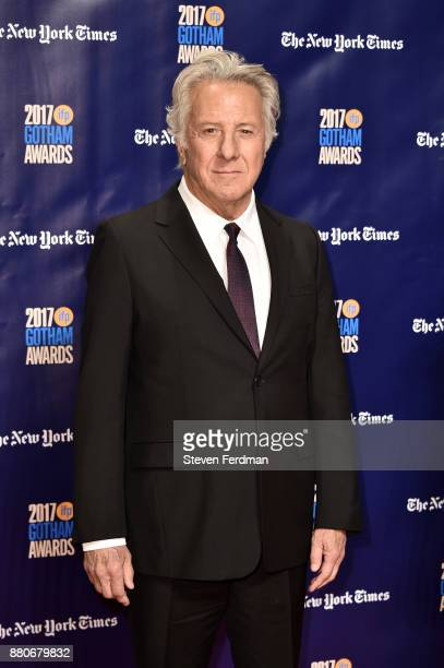 Dustin Hoffman attends IFP's 27th Annual Gotham Independent Film Awards at Cipriani Wall Street on November 27 2017 in New York City