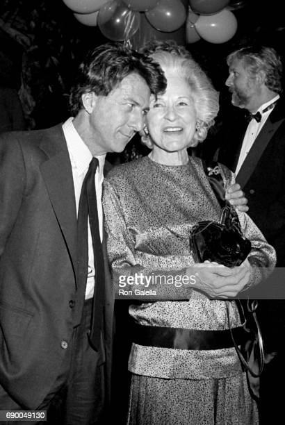 Dustin Hoffman attends 'Smile' Opening Night Party on November 24 1986 at 4D Club in New York City