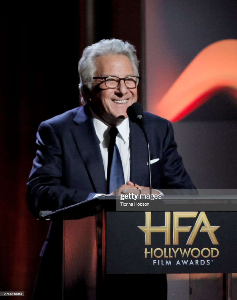 Dustin Hoffman attends the 21st annual Hollywood Film Awards at The Beverly Hilton Hotel on November 5, 2017 in Beverly Hills, California.