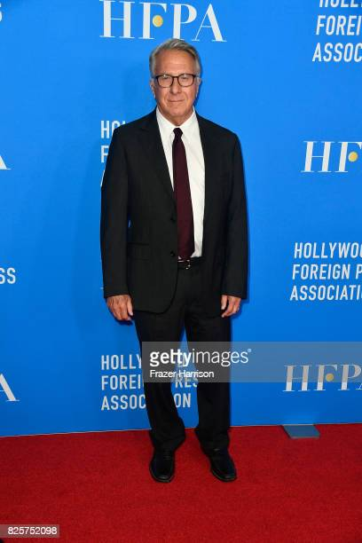 Dustin Hoffman attends the Hollywood Foreign Press Association's Grants Banquet at the Beverly Wilshire Four Seasons Hotel on August 2 2017 in...