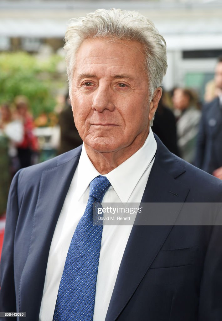 Dustin Hoffman attends the Laugh Gala & UK Premiere of 'The Meyerowitz Stories' during the 61st BFI London Film Festival at Embankment Gardens Cinema on October 6, 2017 in London, England.