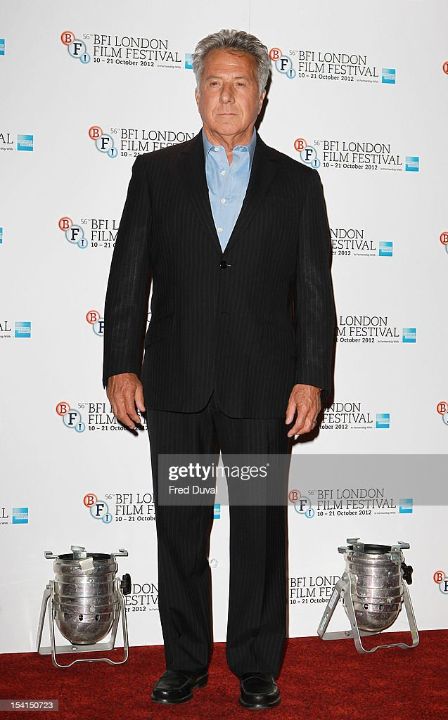 Dustin Hoffman attends the Photocall for 'Quartet' at the BFI London Film Festival at Empire Leicester Square on October 15, 2012 in London, England.