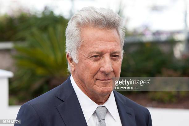 Dustin Hoffman attends the 'The Meyerowitz Stories' Photocall during the 70th annual Cannes Film Festival at Palais des Festivals on May 21 2017 in...
