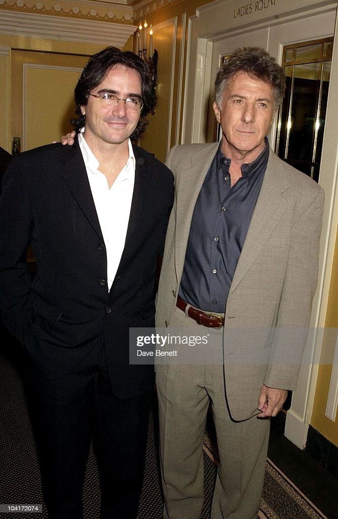 Dustin Hoffman & Brad Silberling (director), The Empire Movie Awards 2003 Held At The Dorchester Hotel In London