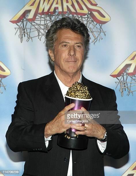 Dustin Hoffman during 2005 MTV Movie Awards - Press Room at Shrine Auditorium in Los Angeles, California, United States.