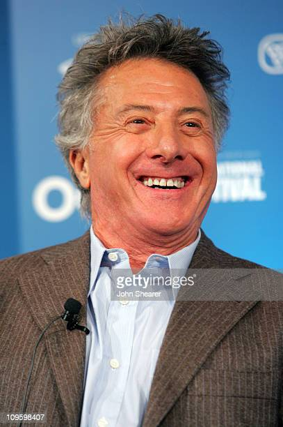 """Dustin Hoffman during 31st Annual Toronto International Film Festival - """"Stranger Than Fiction"""" Press Conference at Sutton Place Hotel in Toronto,..."""