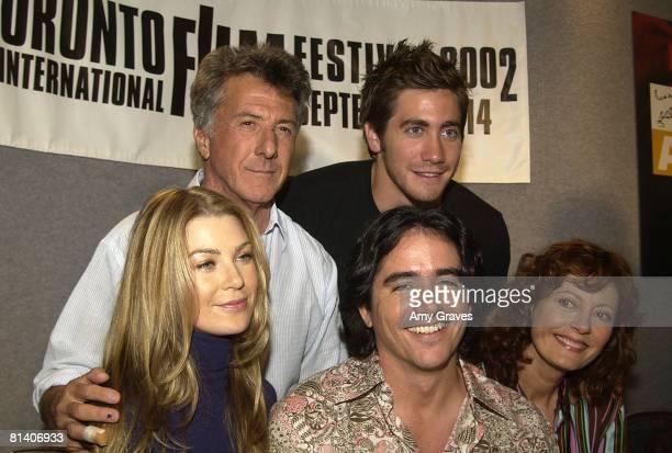 Dustin Hoffman Jake Gyllenhaal Ellen Pompeo writer/director Brad Silberling and Susan Sarandon