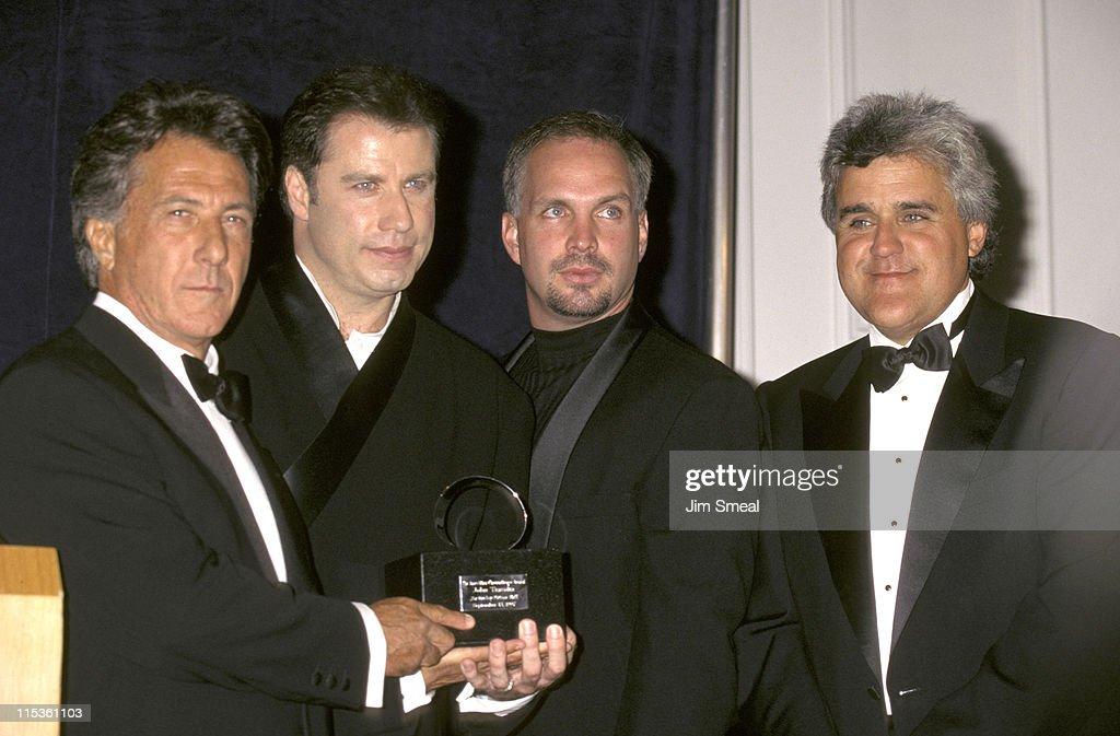 Dustin Hoffman, John Travolta, Garth Brooks, and Jay Leno