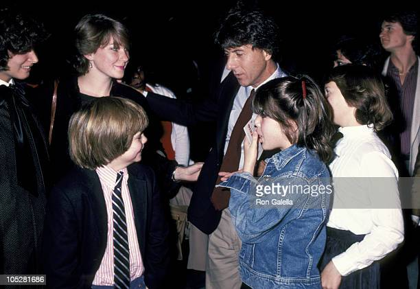 Dustin Hoffman Lisa Hoffman children and Justin Henry