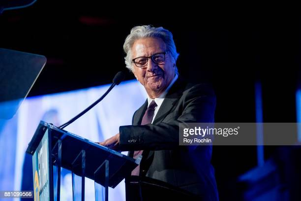 Dustin Hoffman speaks onstage during IFP's 27th Annual Gotham Independent Film Awards at Cipriani Wall Street on November 27 2017 in New York City