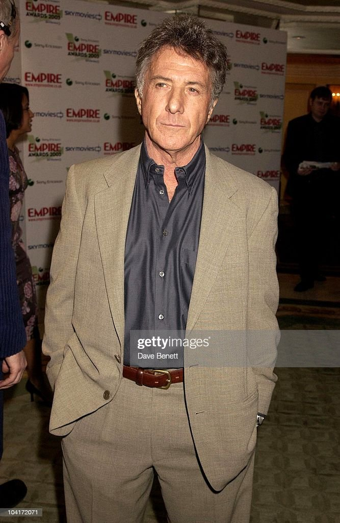 Dustin Hoffman, The Empire Movie Awards 2003 Held At The Dorchester Hotel In London
