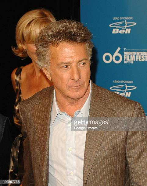 """Dustin Hoffman wearing Domenico Vacca during 31st Annual Toronto International Film Festival - """"Stranger Than Fiction"""" Press Conference at Sutton..."""