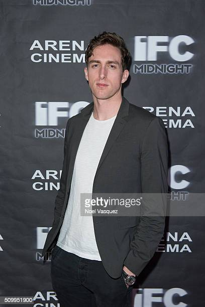 Dustin Ingram attends the Cabin Fever Los Angeles Premiere at Arena Cinema Hollywood on February 12 2016 in Hollywood California