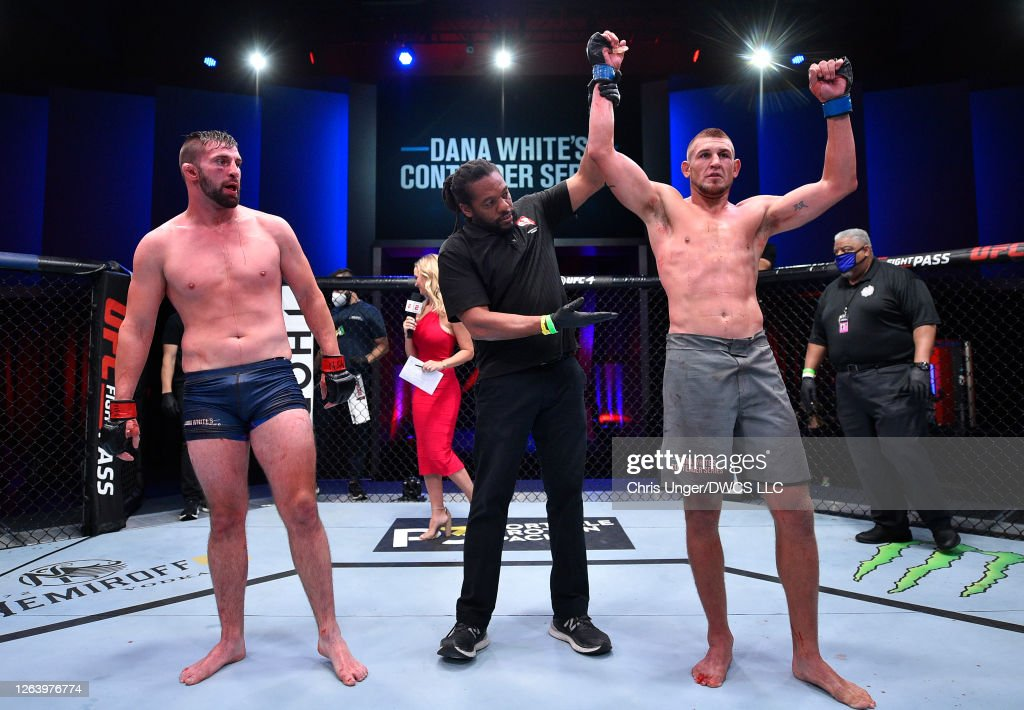 Dana White's Contender Series - Flores v Jacoby : News Photo