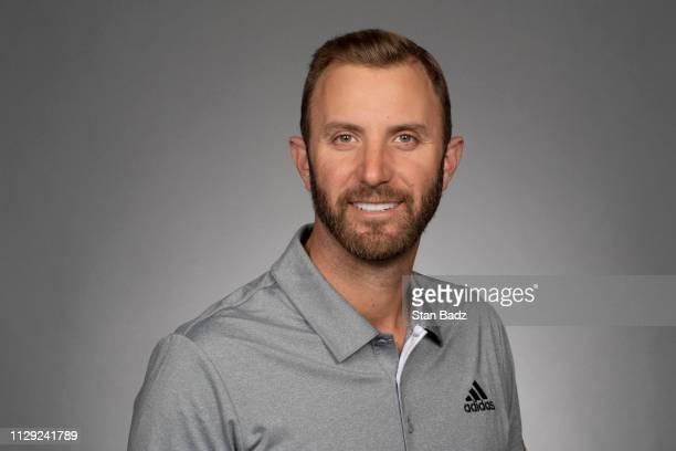 Dustin Johnson current official PGA TOUR headshot.