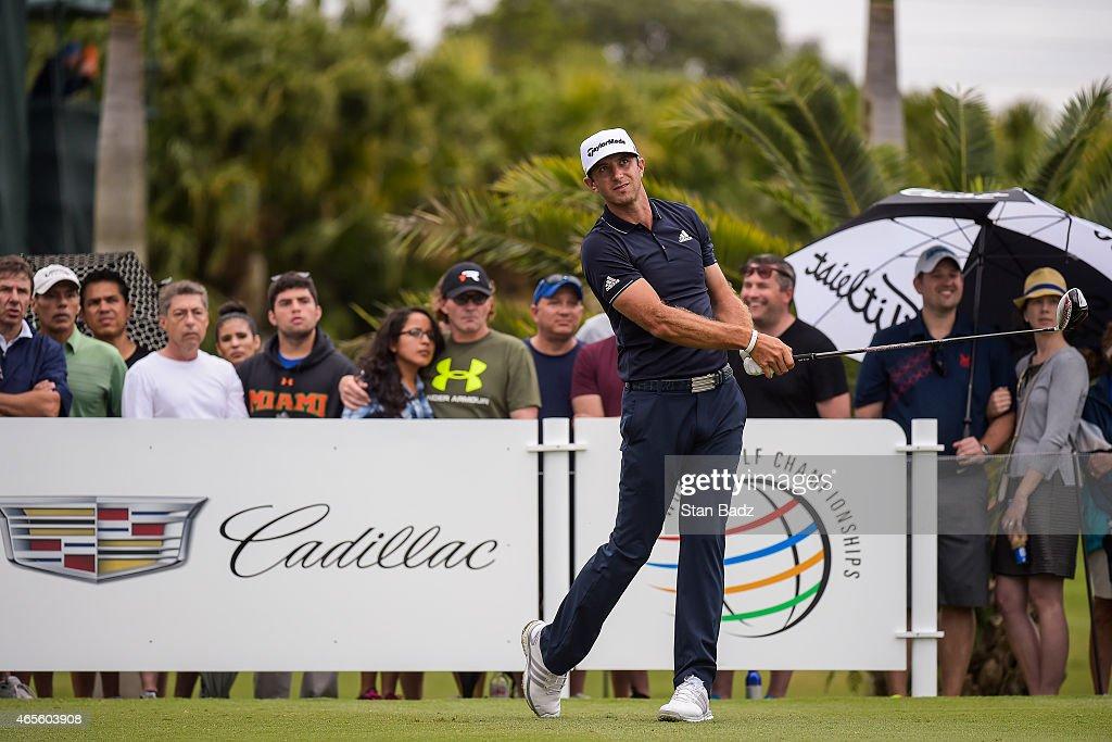 World Golf Championships-Cadillac Championship - Final Round : News Photo