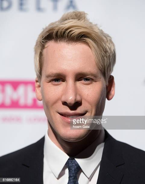 Dustin Lance Black attends the 2016 GMHC Spring Gala dinner at Cipriani 42nd Street on March 21 2016 in New York City