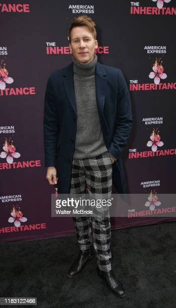 Dustin Lance Black attends the Opening Night performance of The Inheritance at the Barrymore Theatre on November 17 2019 in New York City