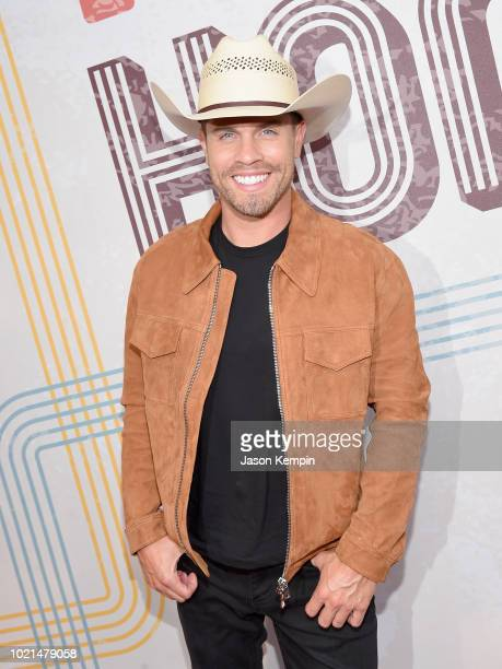 Dustin Lynch attends the 12th Annual ACM Honors at Ryman Auditorium on August 22 2018 in Nashville Tennessee