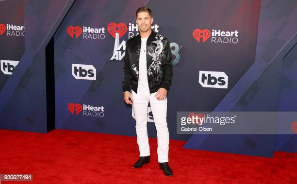 Dustin Lynch attends the 2018 iHeartRadio Music Awards at the Forum on March 11 2018 in Inglewood California