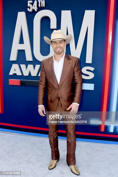 Dustin Lynch attends the 54th Academy Of Country Music Awards at MGM Grand Hotel Casino on April 07 2019 in Las Vegas Nevada
