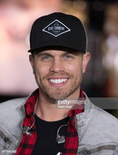 Dustin Lynch attends the rehearsals for the 91st Annual Macy's Thanksgiving Day Parade on November 21 2017 in New York City