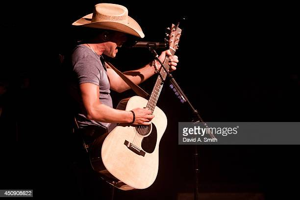 Dustin Lynch performs at Iron City on June 19 2014 in Birmingham Alabama