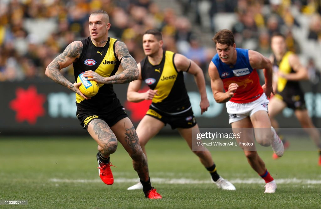 AFL Rd 23 - Richmond v Brisbane : News Photo