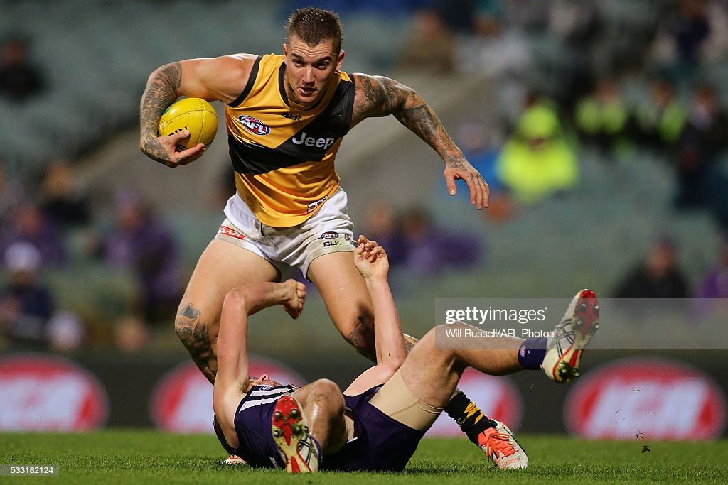 AFL Rd 9 - Fremantle v Richmond : News Photo