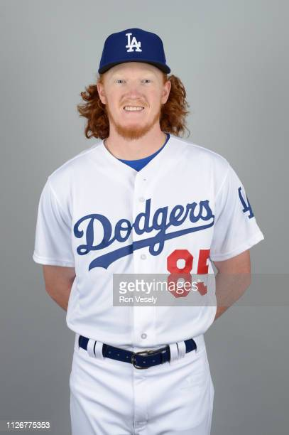 Dustin May of the Los Angeles Dodgers poses during Photo Day on Thursday February 20 2019 at Camelback Ranch in Glendale Arizona