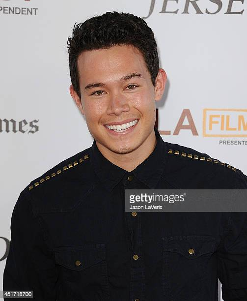 Dustin Mccurdy attends the 2014 Los Angeles Film Festival closing night film premiere of 'Jersey Boys' at Premiere House on June 19 2014 in Los...
