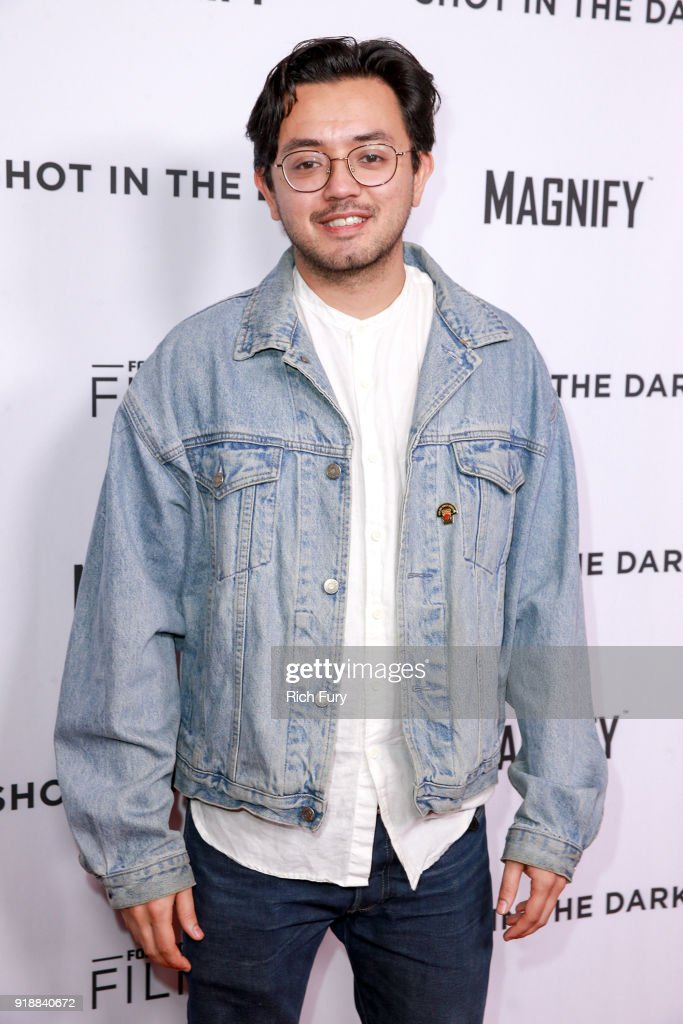 Dustin Nakao-Haider attends Magnify and Fox Sports Films' 'Shot In The Dark' premiere documentary screening and panel discussion at Pacific Design Center on February 15, 2018 in West Hollywood, California.