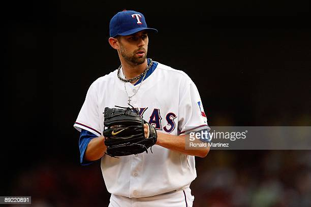 Dustin Nippert of the Texas Rangers on July 22 2009 at Rangers Ballpark in Arlington Texas Photo by Ronald Martinez/Getty Images