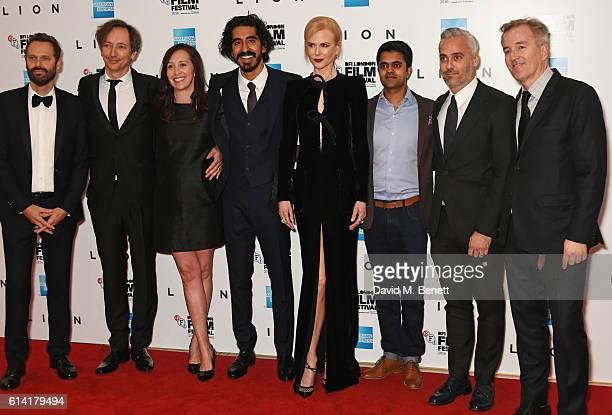 Dustin O'Halloran Volker Bertelmann Angie Fielder Dev Patel Nicole Kidman Divian Ladwa Iain Canning and Luke Davies attend the 'Lion' American...