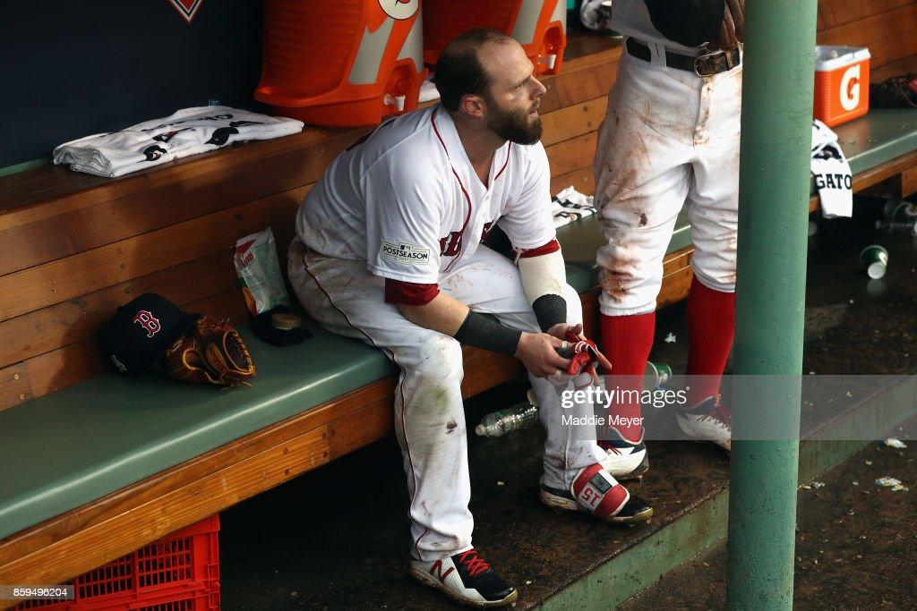 Divisional Round - Houston Astros v Boston Red Sox - Game Four : News Photo