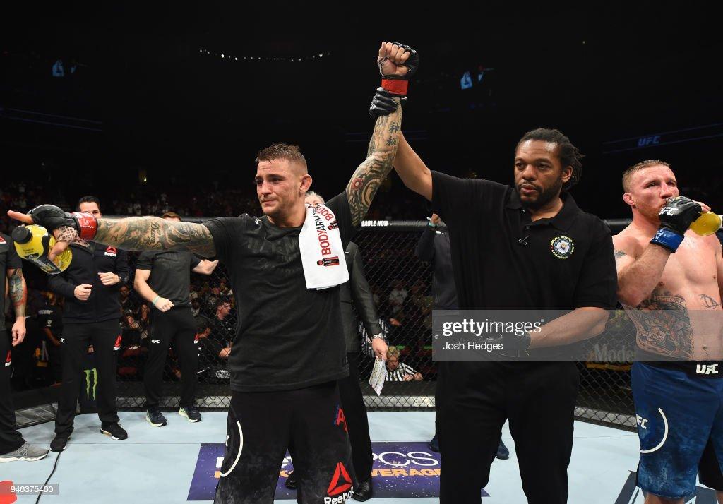 UFC Fight Night: Poirier v Gaethje : News Photo