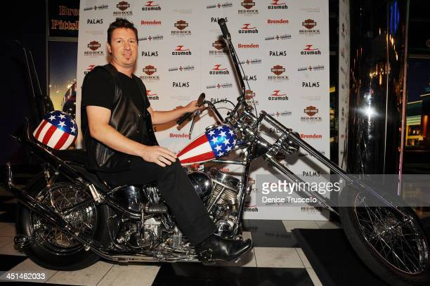 Dustin Rikert Arrives At The Sneak Peek Of Easy Rider The Ride Back At Brenden Theaters