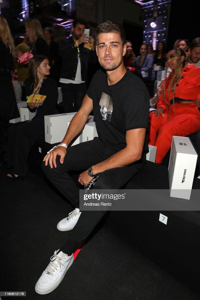 Dustin Schoene Partner Of Lena Gercke Attends The Leger By