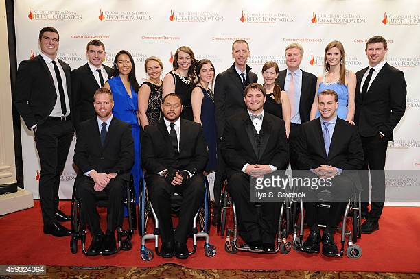 Dustin Shillcox Peter Wilderotter Andrew Meas Alexandra Reeve Givens William Reeve Kent Stephenson Matthew Reeve and Rob Summers attend The...