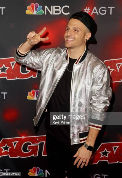 """Dustin Tavella attends """"America's Got Talent"""" Season 16 Finale at Dolby Theatre on September 15, 2021 in Hollywood, California."""