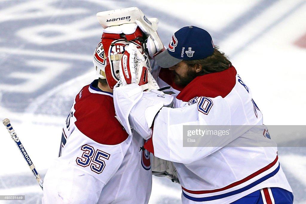 Montreal Canadiens v New York Rangers - Game Three : ニュース写真