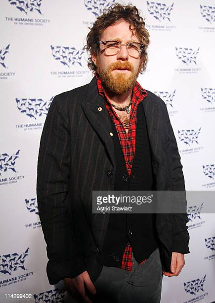 Dustin Yellin attends The Humane Society of the United States & The Art Institute's Fifth Annual Cool vs. Cruel Awards Ceremomy at The Bowery Hotel...