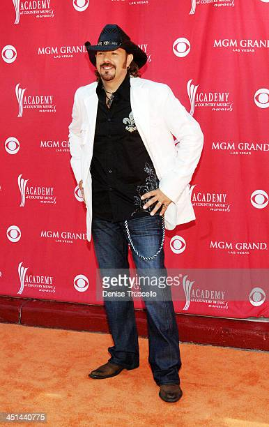Dusty Drake during 42nd Academy of Country Music Awards - Red Carpet at The MGM Grand Hotel and Casino Resort in Las Vegas, Nevada.