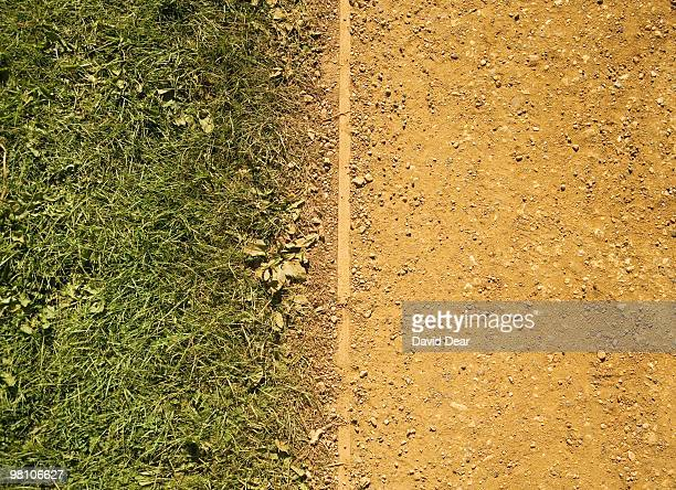 Dusty Footpath and Grass