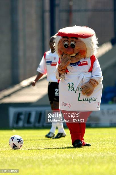 Dusty Miller Rotherham United Mascot