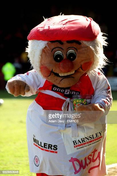 Dusty Miller Rotherham United's mascot